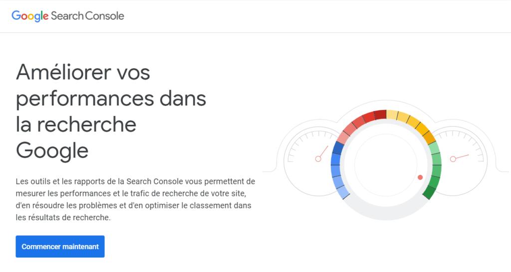 Google Search Console dans le cadre du référencement