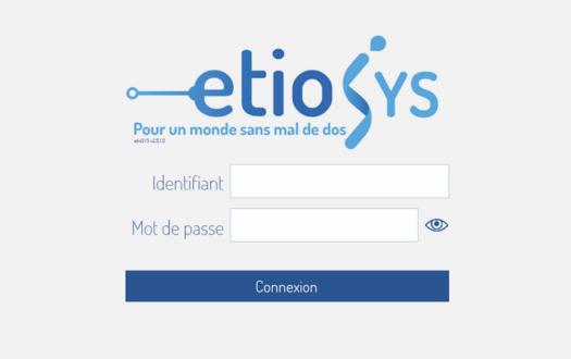 etiosystems page de connexion