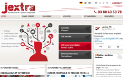 jextra page accueil