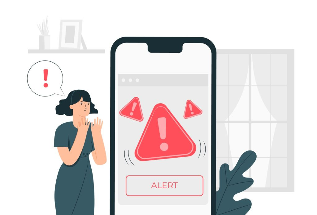 Concept des alertes