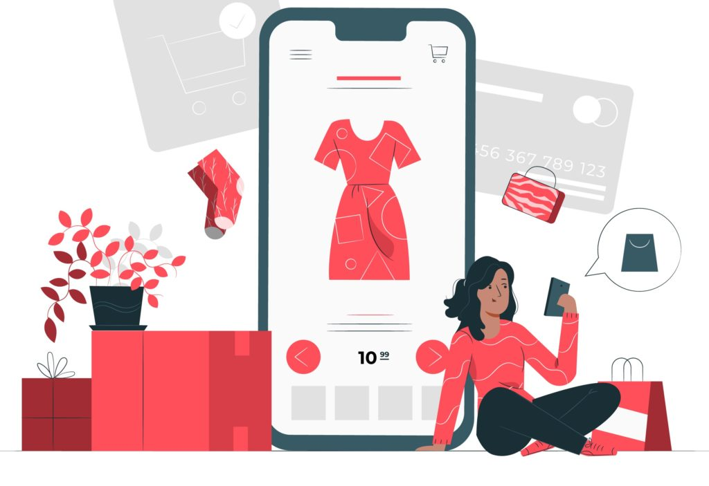 Achat en ligne avec carte bancaire